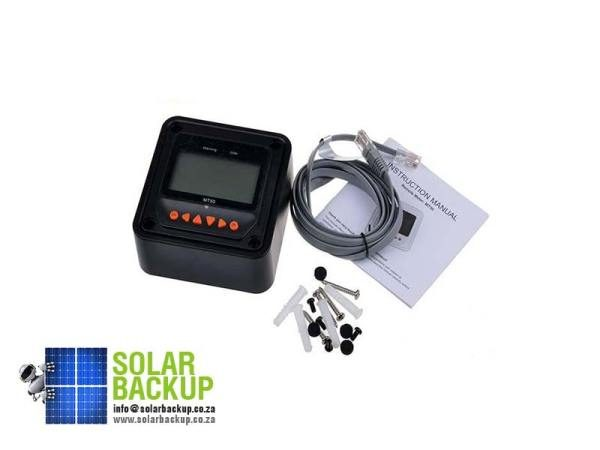EPSOLAR-MT50-remote-meter-LCD-Display-epever-LandStar-Viewstar-Tracer-solar-controller-Black-color-1